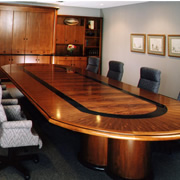 Woodpecker Enterprises: Mahogany Conference Table - Quintiles